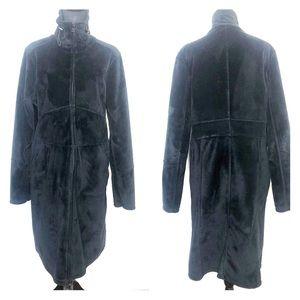 Athleta minka plush fleece thermal coat